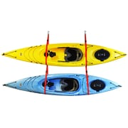 Malone Auto Racks SlingTwo  Double Kayak Storage System Ceiling/Wall Mounted Kayak Rack