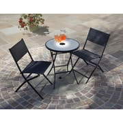 SunTime Outdoor Living Jupiter 3 Piece Light-Up Bistro Set