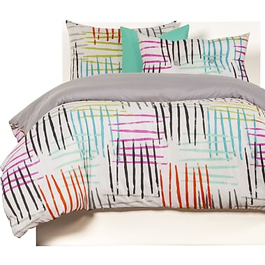 Crayola Crayola Stroke of Genius Duvet Cover Set; Twin