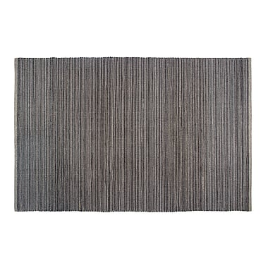 Fab Habitat Estate Hand-Woven Gray Indoor/Outdoor Area Rug; 5' x 8'