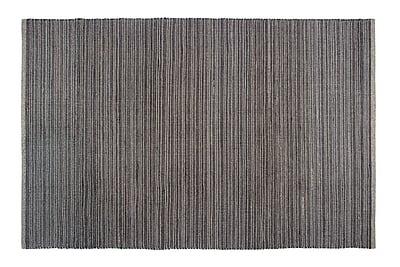 Fab Habitat Estate Hand-Woven Gray Indoor/Outdoor Area Rug; 5' x 8'