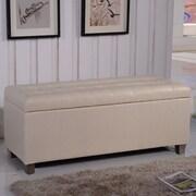NOYA USA Classic Storage Bench; Cream