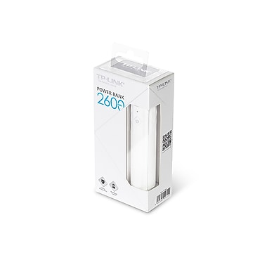 TP-LINK - Chargeur portable 2600mAh Power Bank, (TL-PB2600)