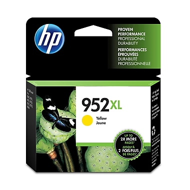HP 952XL Yellow High Yield Original Ink Cartridge (L0S67AN)