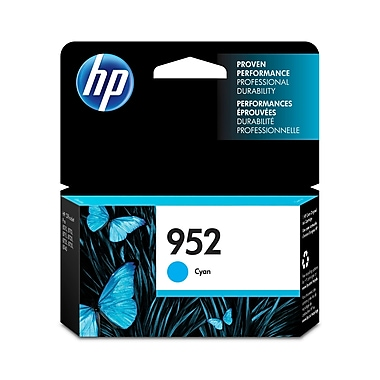 HP 952 Cartouche d'encre cyan d'origine (L0S49AN)