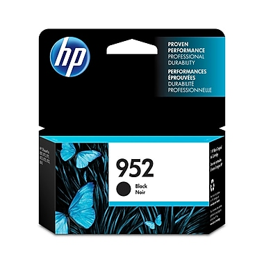 HP 952 Black Original Ink Cartridge (F6U15AN)