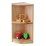 Constructive Playthings Premium Portable Corner Shelving Unit