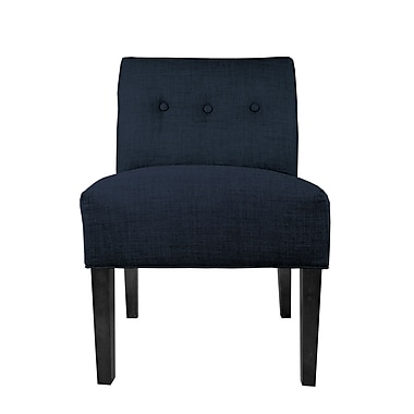 MJLFurniture Dawson 7 Slipper chair; Eclipse
