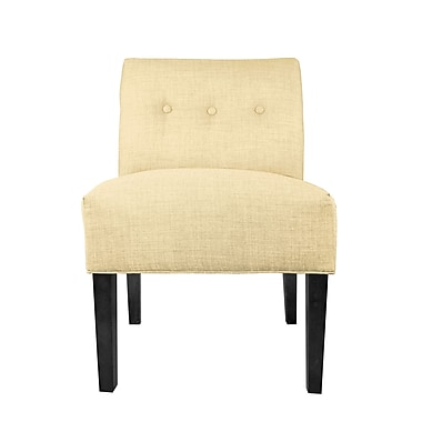 MJLFurniture Dawson 7 Slipper chair; Pismo