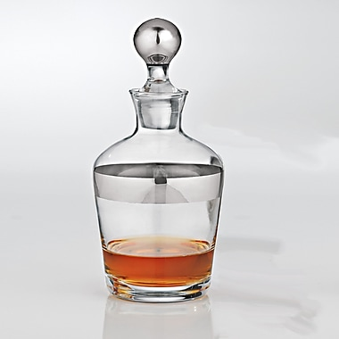 Wine Enthusiast Companies Madison Avenue Whiskey 32 Oz. Decanter
