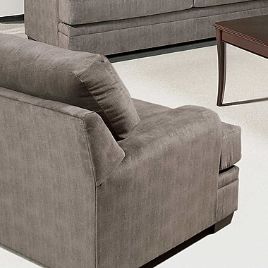 Serta Upholstery Armchair; Furby Pewter