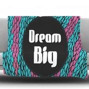 KESS InHouse Dream Big by Pom Graphic Design Fleece Throw Blanket; 40'' H x 30'' W x 1'' D