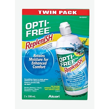 Opti Free Express 2 x 355ml Contact Lens Care, (3560043)
