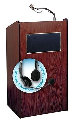 Oklahoma Sound Aristocrat Sound Lectern, Mahogany (6010-MY/LWM-7)