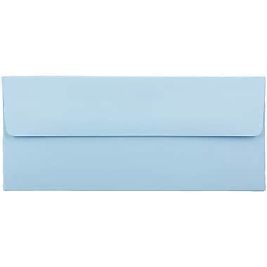 JAM Paper® #10 Business Envelopes, 4 1/8 x 9 1/2, Baby Blue, 25/pack (2155778)