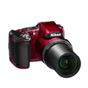 Nikon Refurbished COOLPIX L840 16MP Digital Camera with 38x Zoom VR Lens & WiFi - Red