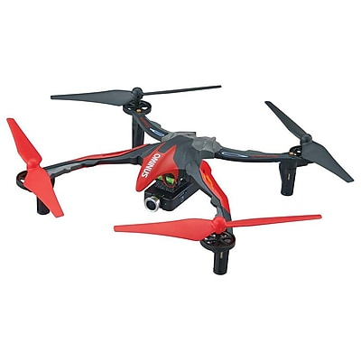 Dromida Ominus FPV UAV Quadcopter RTF, Red With Live View Video Camera