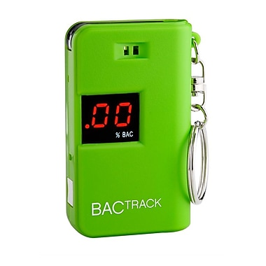 BACtrack - Porte-clés éthylomètre, vert (BT-KC10-GN)