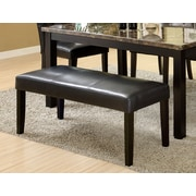 Hokku Designs Parker Leatherette Bench