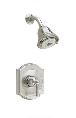American Standard Portsmouth Flowise Volume Shower Faucet Trim Kit w/ Lever Handle; Satin Nickel