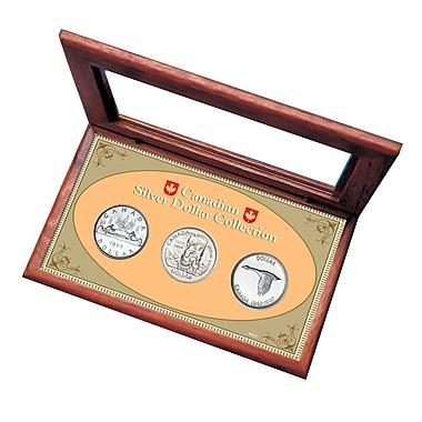 American Coin Treasure Canadian Silver Dollar Display Box Set
