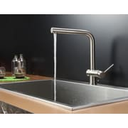 Ruvati Tirana 33'' x 21'' Drop-in Single Bowl Kitchen Sink