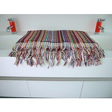 Michele Keeler Home Turkish Bath Sheet; Blues