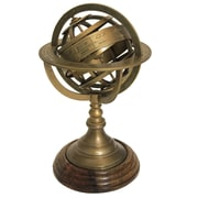 EC World Imports Urban Designs Armillary Sphere World Globe Table and Studio Decor