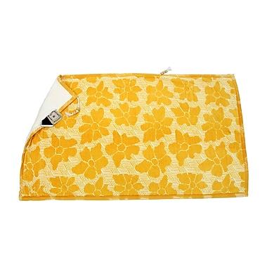 Hilaire Productions Embrace Casmus Beach Towel; Yellow
