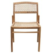 Harmonia Living Sands Stacking Patio Dining Chair w/ Cushion