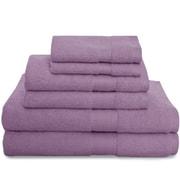 Revere Mills Montgomery 6 Piece Towel Set; Orchid Mist