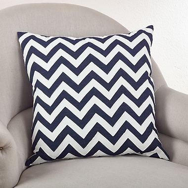 Saro Chevron Lumbar Pillow