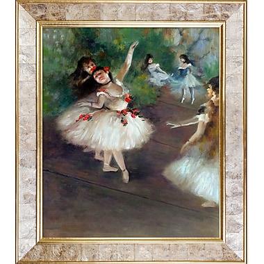 La Pastiche 'Dancers, 1878' by Edgar Degas Framed Painting Print