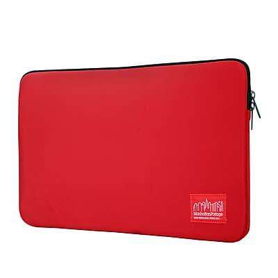 "Manhattan Portage Waterproof Nylon Laptop Sleeve 13"" Red (1032-NW RED)"