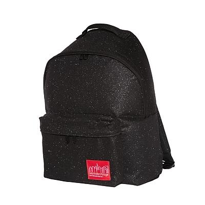 Manhattan Portage Midnight Big Apple Backpack Medium Black (1210-MDN BLK)