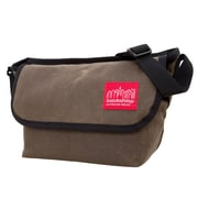 Manhattan Portage Waxed Canvas Messenger Bag (1603-WCN DBR)