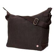 Token Riverside Waxed Shoulder Bag Dark Brown (TK-400-WX DBR)