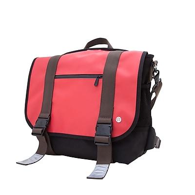 Token Lorimer Matte Vinyl Messenger Bag Medium Red (TK-614-MT RED)
