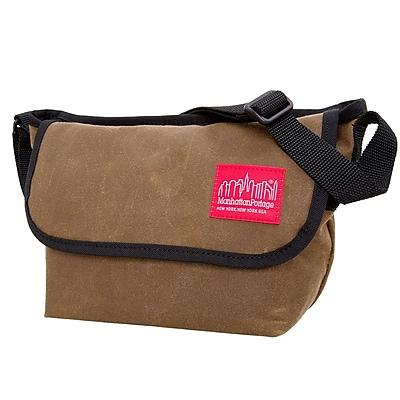 Manhattan Portage Waxed Canvas Messenger Bag (1603-WCN FTAN)