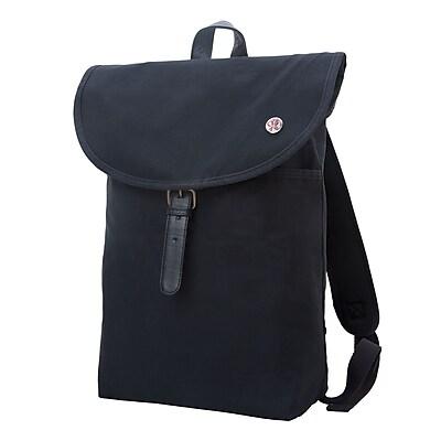 Token Bergen Waxed Backpack Medium Black (TK-290-WX BLK)