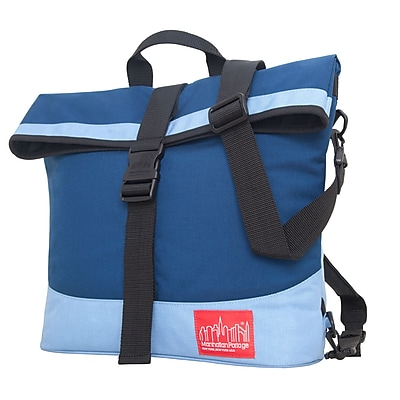 Manhattan Portage Double Dare Convertible Navy/ Ice Blue (1245 NVY/IBL)