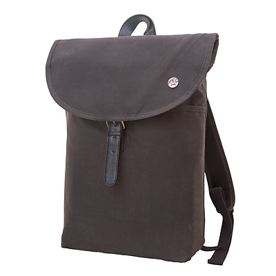 Token Bergen Waxed Backpack Medium Dark Brown (TK-290-WX DBR)