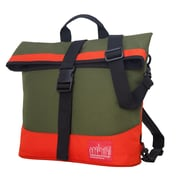 Manhattan Portage Double Dare Convertible Olive/ Orange (1245 OLV/ORG)