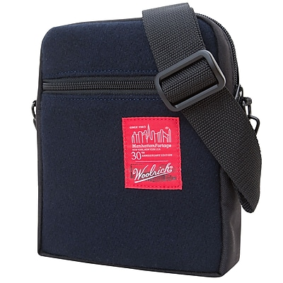 Manhattan Portage Woolrich City Lights Small Navy (1403-WLR NVY)