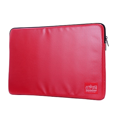 "Manhattan Portage Vinyl Laptop Sleeve 15"" Red (1033-VL RED)"