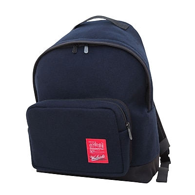 Manhattan Portage Woolrich Big Apple Backpack Medium Navy (1209-WLR NVY)