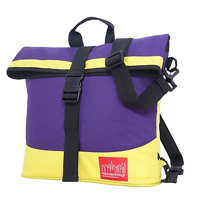 Manhattan Portage Double Dare Convertible Purple/ Yellow (1245 PRP/YEL)