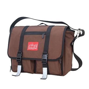 Manhattan Portage Trotter Messenger Bag Jr. Dark Brown (1455 DBR)