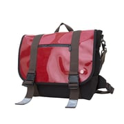 Token Lorimer Enamel Messenger Bag Medium Red (TK-614-E RED)