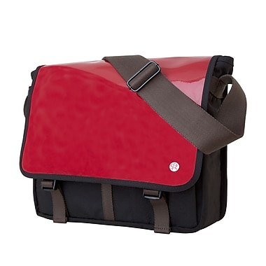 Token Metropolitan Enamel Dj Bag Medium Red (TK-454-E RED)